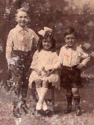mouldy photo restoration before