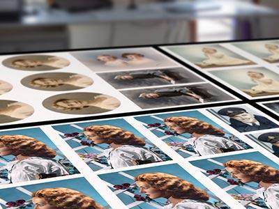 Archival photo printing